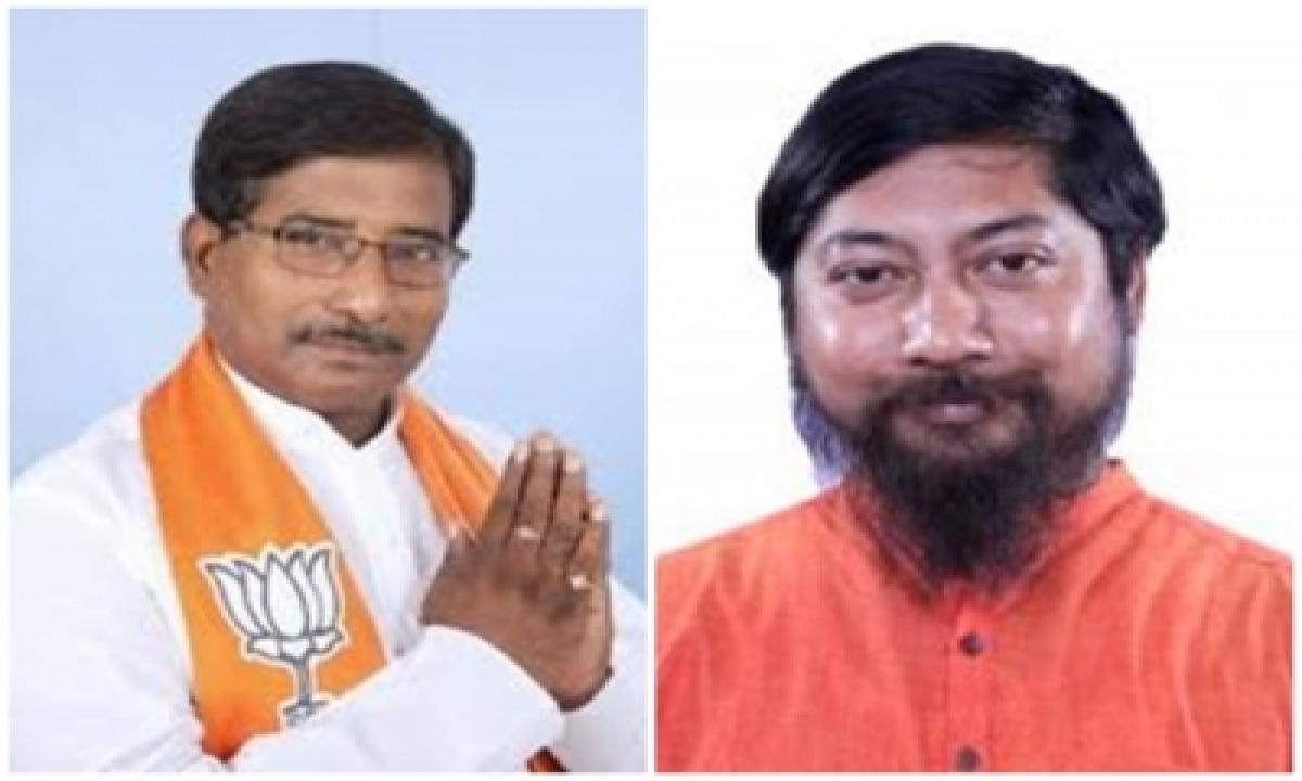 2 Bengal Bjp Mlas Resign As Mlas After Party Directive (ld Correcting Headline)-TeluguStop.com