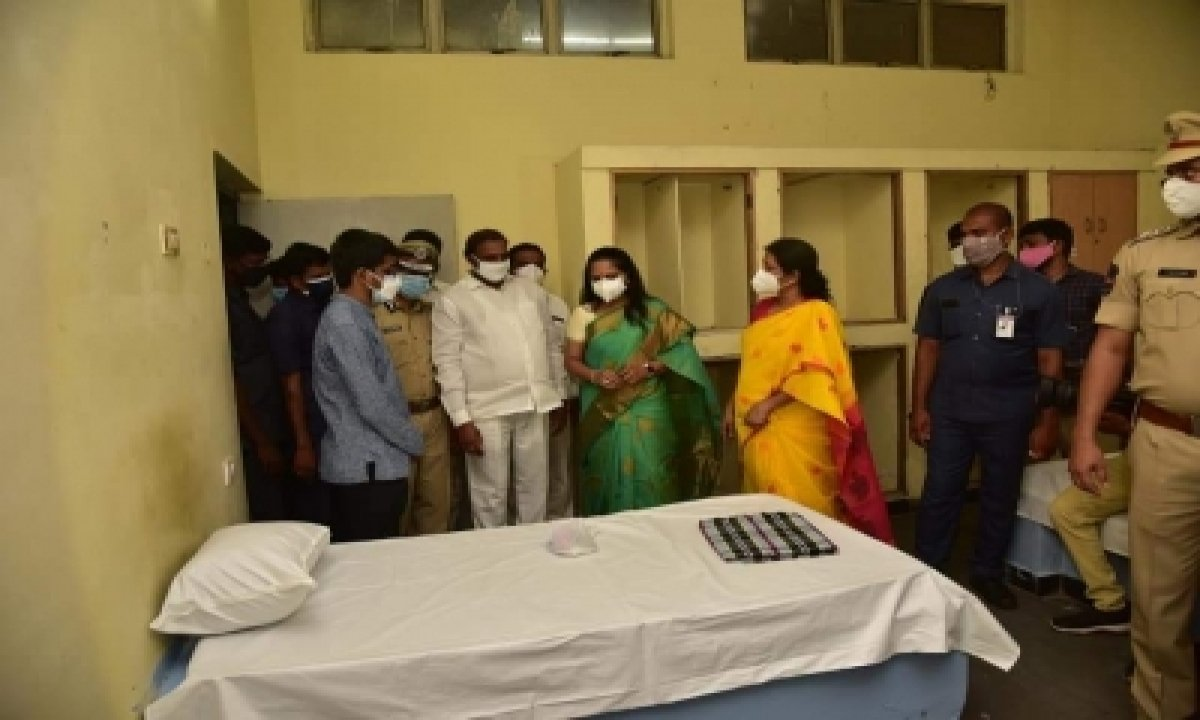 200-bed Covid Isolation Centre Opened In Hyderabad-TeluguStop.com