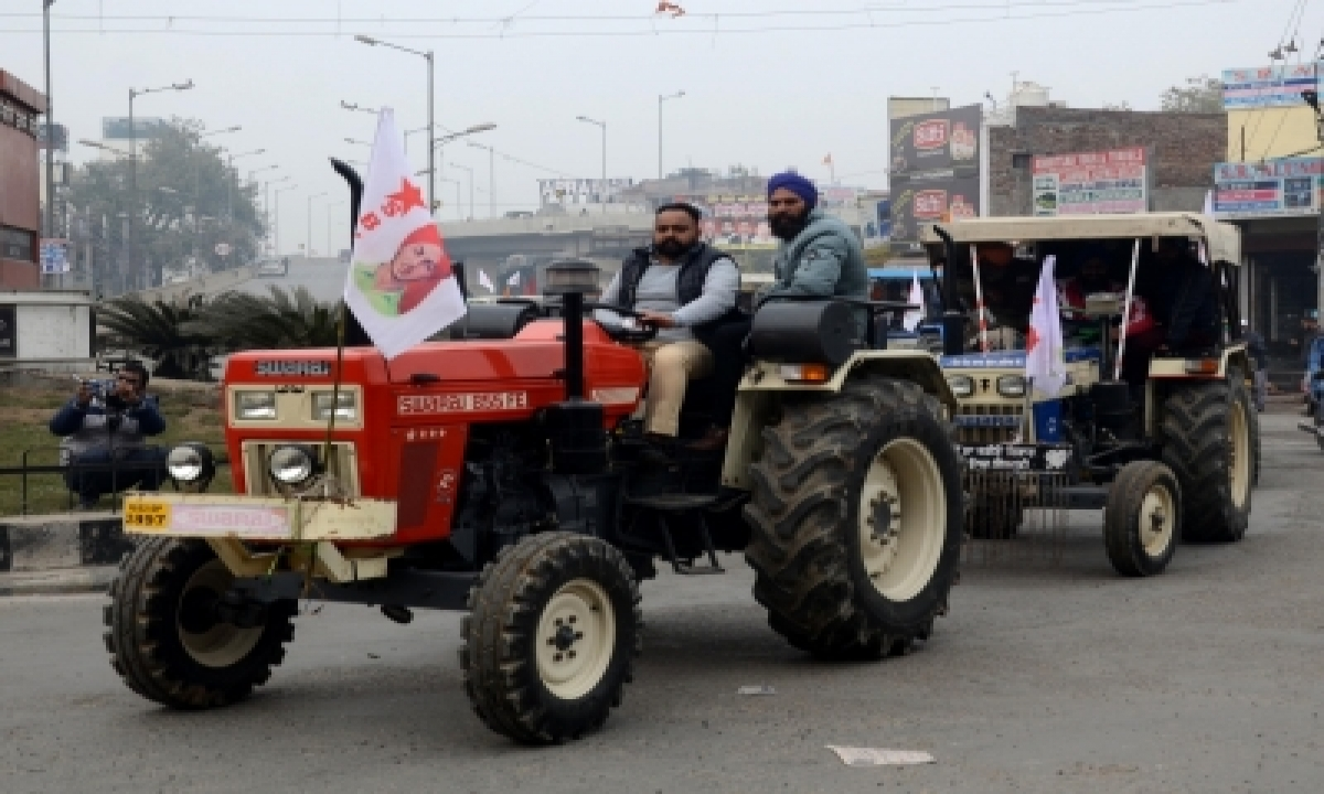 TeluguStop.com - 30 Social Organisations Of Gurugram To Join Tractor Rally On R-day