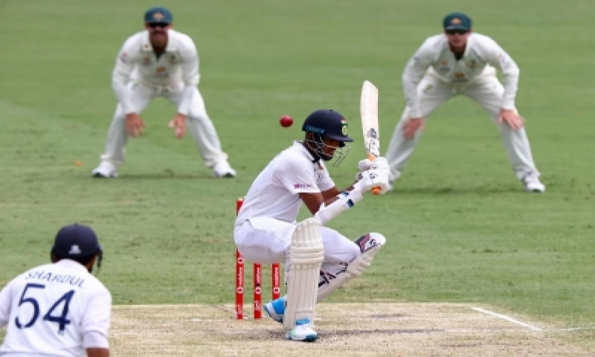 TeluguStop.com - 4th Test: Sundar, Thakur Fight As India Reach 253/6 At Tea
