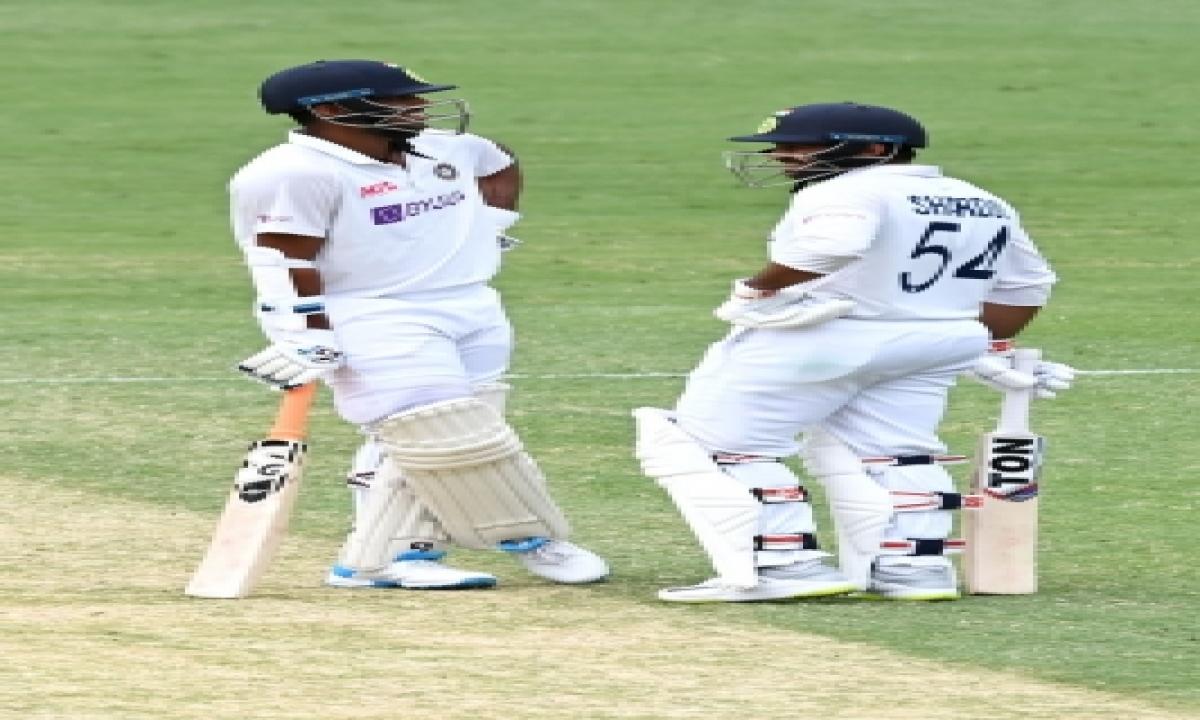 TeluguStop.com - 4th Test: Thakur-sundar Rearguard Keeps India In The Game