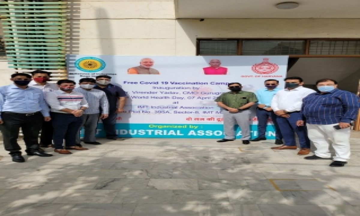 50k To Get Covid Jab In Industrial Area, Says Gurugram Cmo-TeluguStop.com