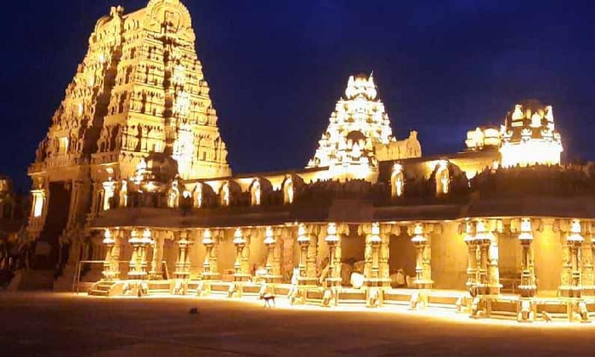 A Small Change Made In The CJI's Visit To The Yadadri Temple-Latest News - Telugu-Telugu Tollywood Photo Image-TeluguStop.com