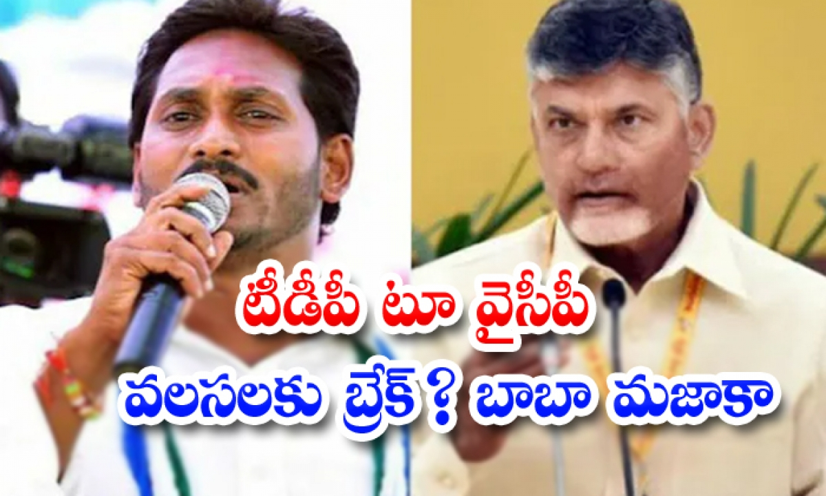 Chandrababu Devised A Strategy To Prevent Any Party Leaders From Joining The Ycp-టీడీపీ టూ వైసీపీ వలసలకు బ్రేక్ బాబా మజాకా-Political-Telugu Tollywood Photo Image-TeluguStop.com