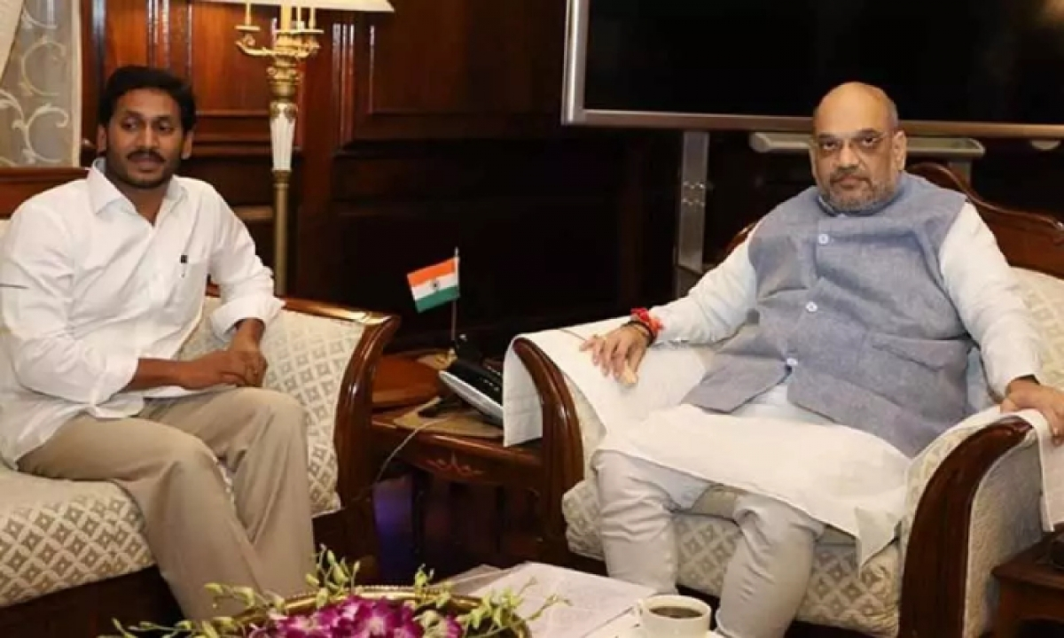 Ap Cm Jagan Left For Delhi To Meet Amit Shah And Other Union Ministers-TeluguStop.com