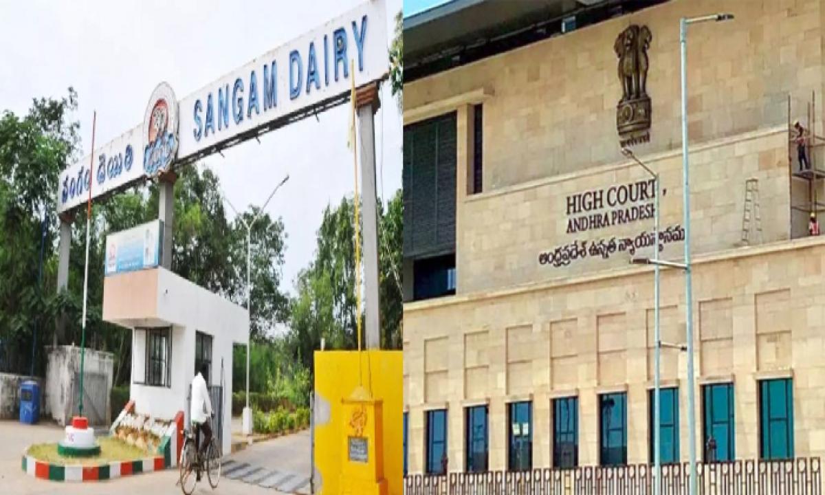 AP High Court Suspends AP Govt GO On Sangam Dairy Ownership-Latest News English-Telugu Tollywood Photo Image-TeluguStop.com