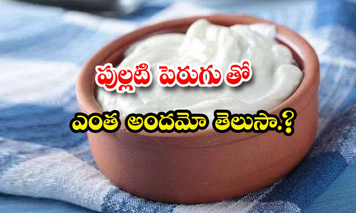 Amazing Benefits Of Yogurt In Telugu-పుల్లటి పెరుగుతో ఎంత అందమో తెలుసా-Latest News - Telugu-Telugu Tollywood Photo Image-TeluguStop.com
