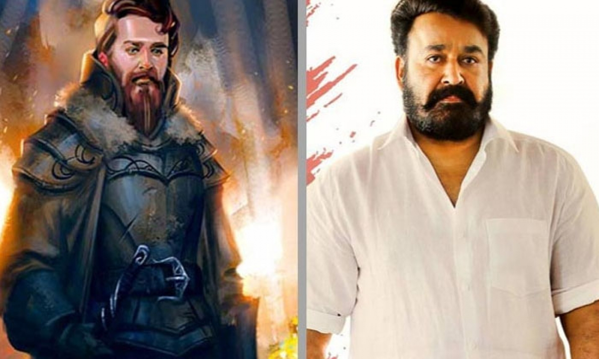 Amitabh Bachchan Wishes Mohanlal For His Directorial Debut-Latest News English-Telugu Tollywood Photo Image-TeluguStop.com