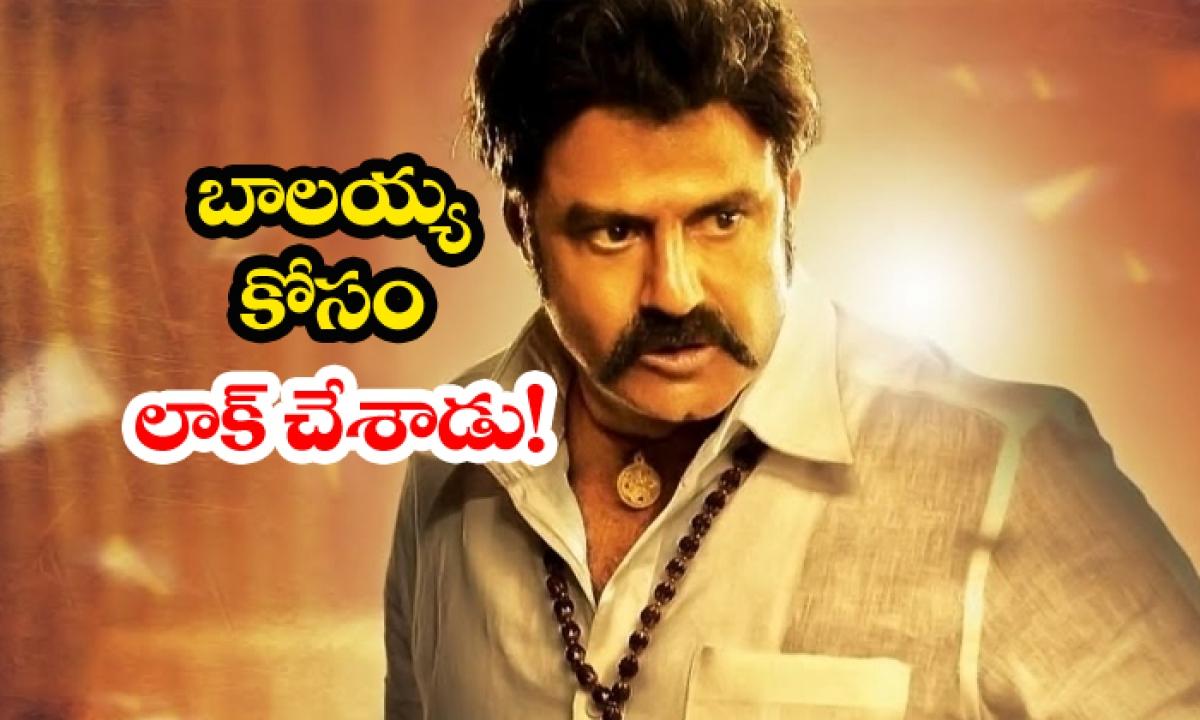 B Gopal Locks Story For Balakrishna-TeluguStop.com