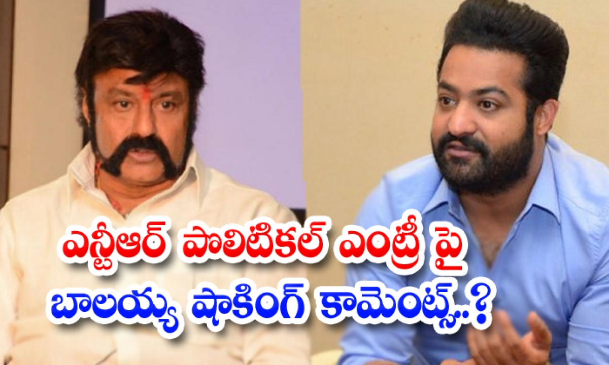 Balakrishna Shocking Comments About Ntr Political Entry-TeluguStop.com