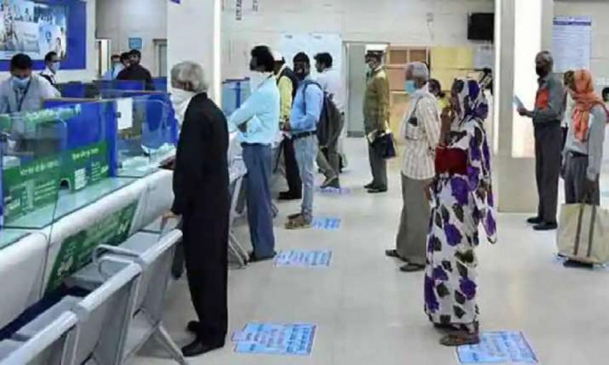 Banking Hours Restricted To 12 Pm In Telangana-Latest News - Telugu-Telugu Tollywood Photo Image-TeluguStop.com