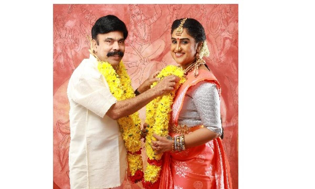 Bigg Boss Fame Vanitha Vijaya Kumar Says I Will Have 4 Weddings And 40 Weddings-40 పెళ్లిళ్లు చేసుకుంటా.. వనిత విజయ్ కుమార్ ఫైర్-Latest News - Telugu-Telugu Tollywood Photo Image-TeluguStop.com