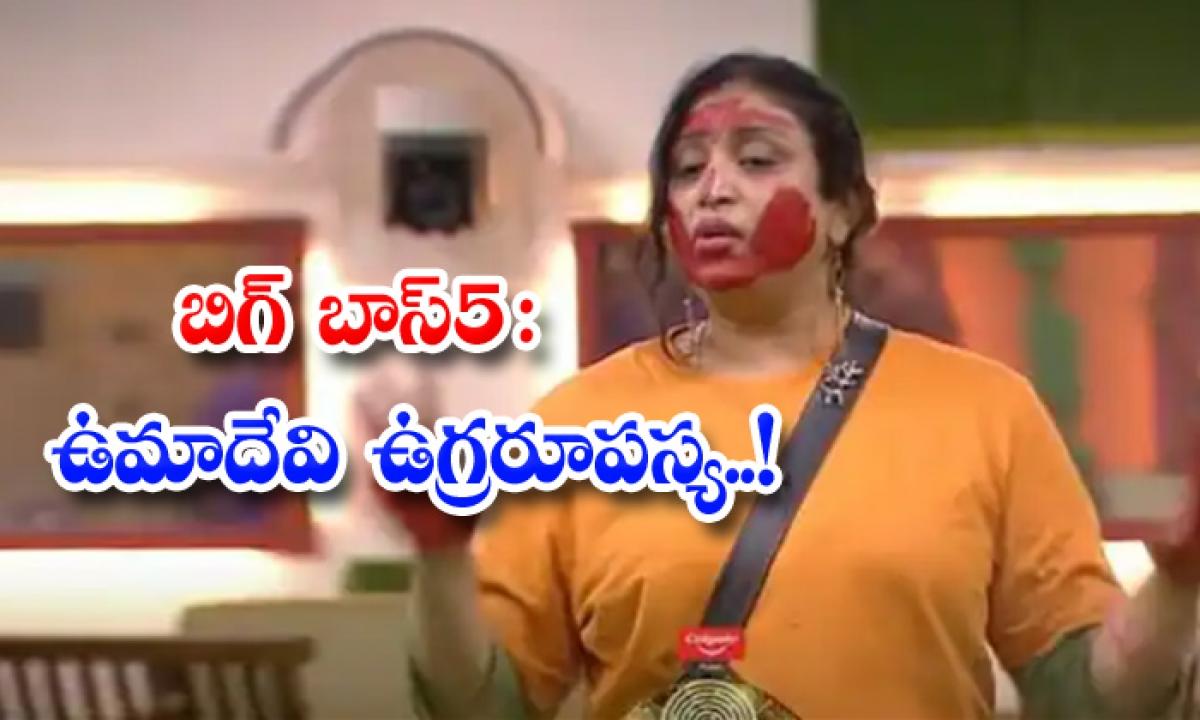 Biggboss Season 5 Umadevi Beep Dialogues-బిగ్ బాస్ 5 : ఉమాదేవి ఉగ్రరూపస్య..-Latest News - Telugu-Telugu Tollywood Photo Image-TeluguStop.com