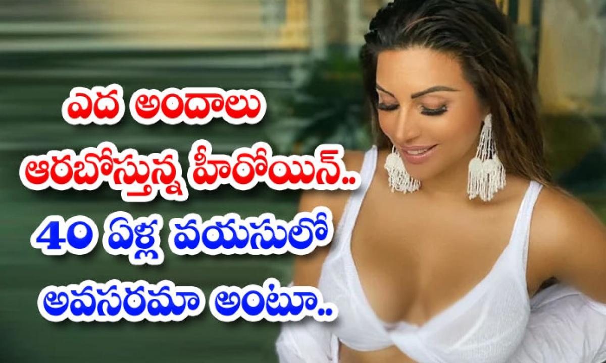 40 Years Old Bollywood Beauty Shama Sikander Mesmerizing With Glamour Treat-ఎద అందాలు ఆరబోస్తున్న హీరోయిన్…. 40 ఏళ్ల వయసులో అవసరమా అంటూ….-Latest News - Telugu-Telugu Tollywood Photo Image-TeluguStop.com