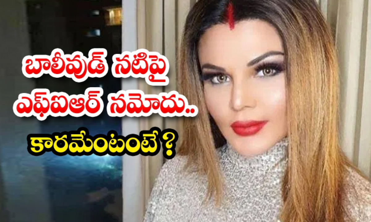 Fir Against Rakhi Sawant And Her Brother Alleged Fraud-TeluguStop.com