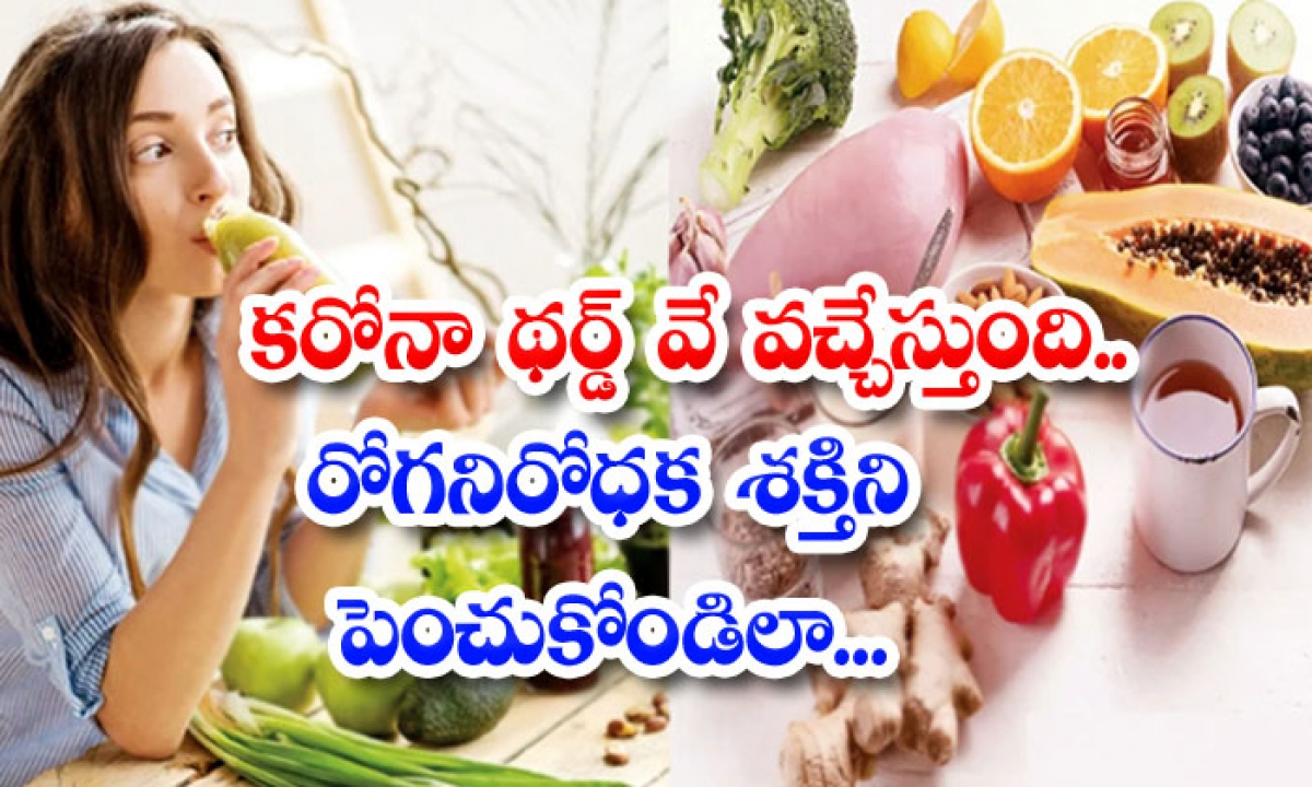 Corona Third Way Is Coming Boost Immunity-కరోనా థర్డ్ వే వచ్చేస్తుంది.. రోగనిరోధక శక్తిని పెంచుకోండిలా..-Latest News - Telugu-Telugu Tollywood Photo Image-TeluguStop.com