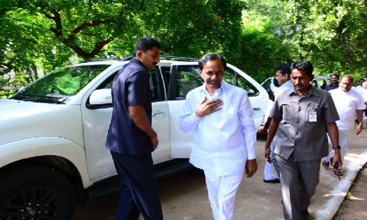 Cm Kcr To Leave For Delhi Today On A 3-day Visit-TeluguStop.com