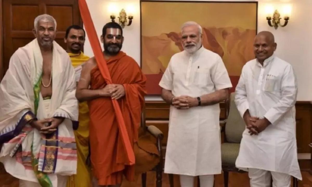 Chinna Jeeyar Swamy Invites Pm Modi For Unveiling Ramanujacharya Statue-TeluguStop.com