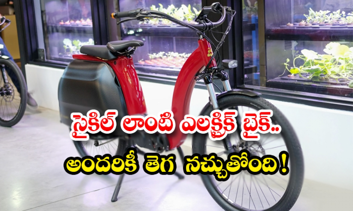Civilized Model 1 New Electric Cycle Bike Now In Market-సైకిల్ లాంటి ఎలక్ట్రిక్ బైక్.. అందరికీ తెగ నచ్చుతోంది-Business - Telugu-Telugu Tollywood Photo Image-TeluguStop.com