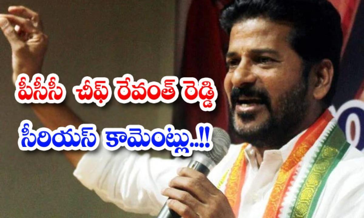 Pcc Chief Rewanth Reddy Serious Comments-పీసీసీ చీఫ్ రేవంత్ రెడ్డి సీరియస్ కామెంట్లు..-Political-Telugu Tollywood Photo Image-TeluguStop.com