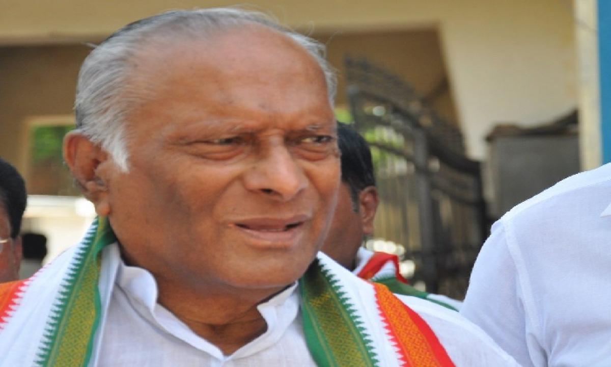Congress Senior Leader M Satyanarayana Rao Passed Away Due To Covid-Latest News - Telugu-Telugu Tollywood Photo Image-TeluguStop.com