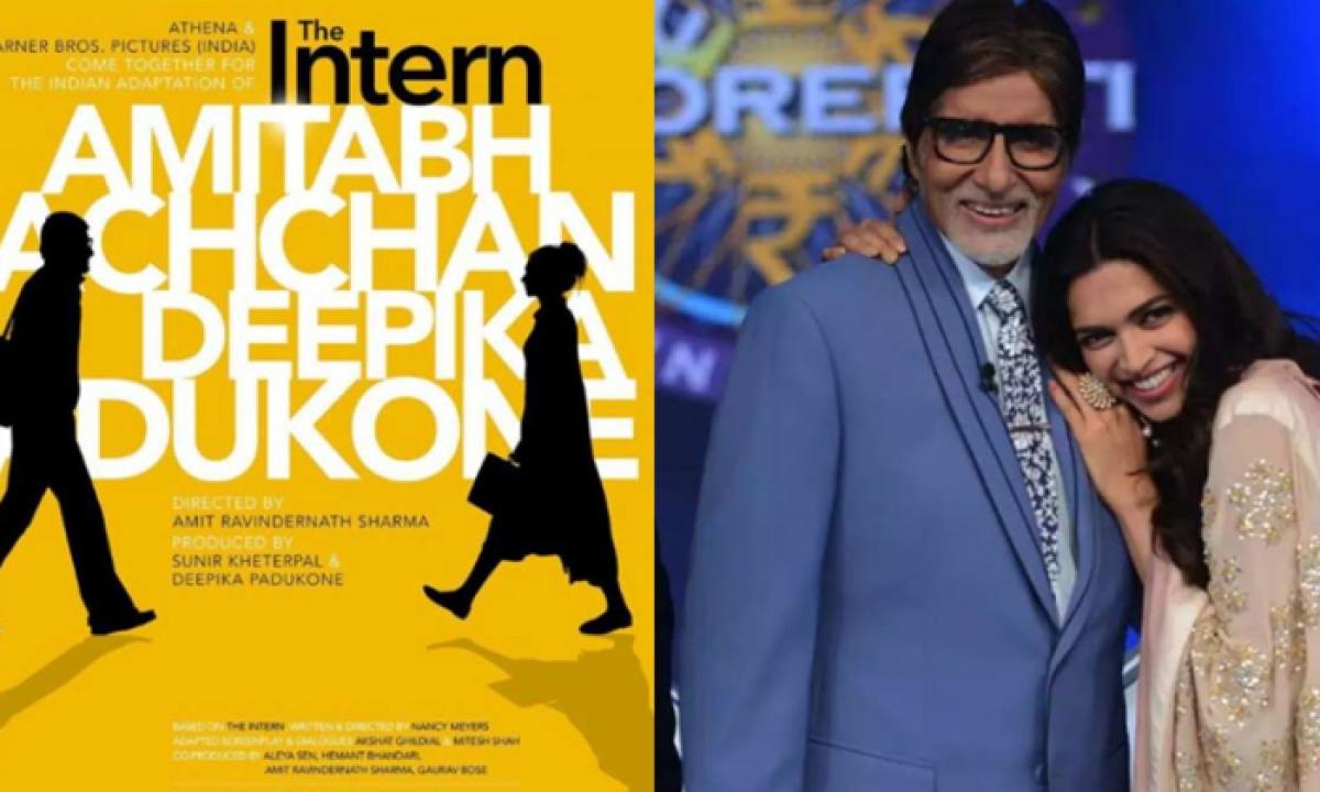 Big B Replaces Late Rishi Kapoor In 'the Intern'-TeluguStop.com