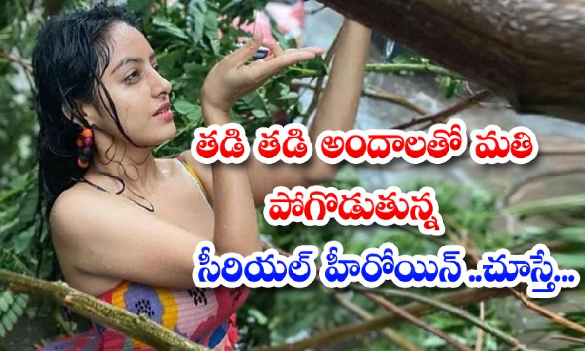 Serial Actress Deepika Singh Glamour Treat Increase-తడి తడి అందాలతో మతి పోగొడుతున్న సీరియల్ హీరోయిన్.. చూస్తే…-Latest News - Telugu-Telugu Tollywood Photo Image-TeluguStop.com