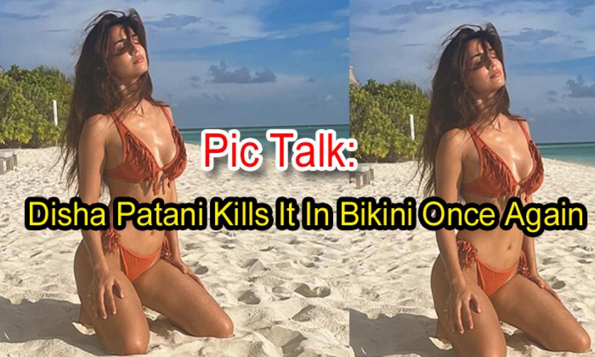 Pic Talk: Disha Patani Kills It In Bikini Once Again-TeluguStop.com