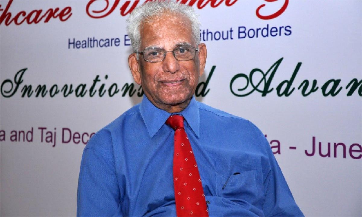 Former Nims Director And Radiologist Dr. Kakarla Subbarao Passes Away !!-TeluguStop.com