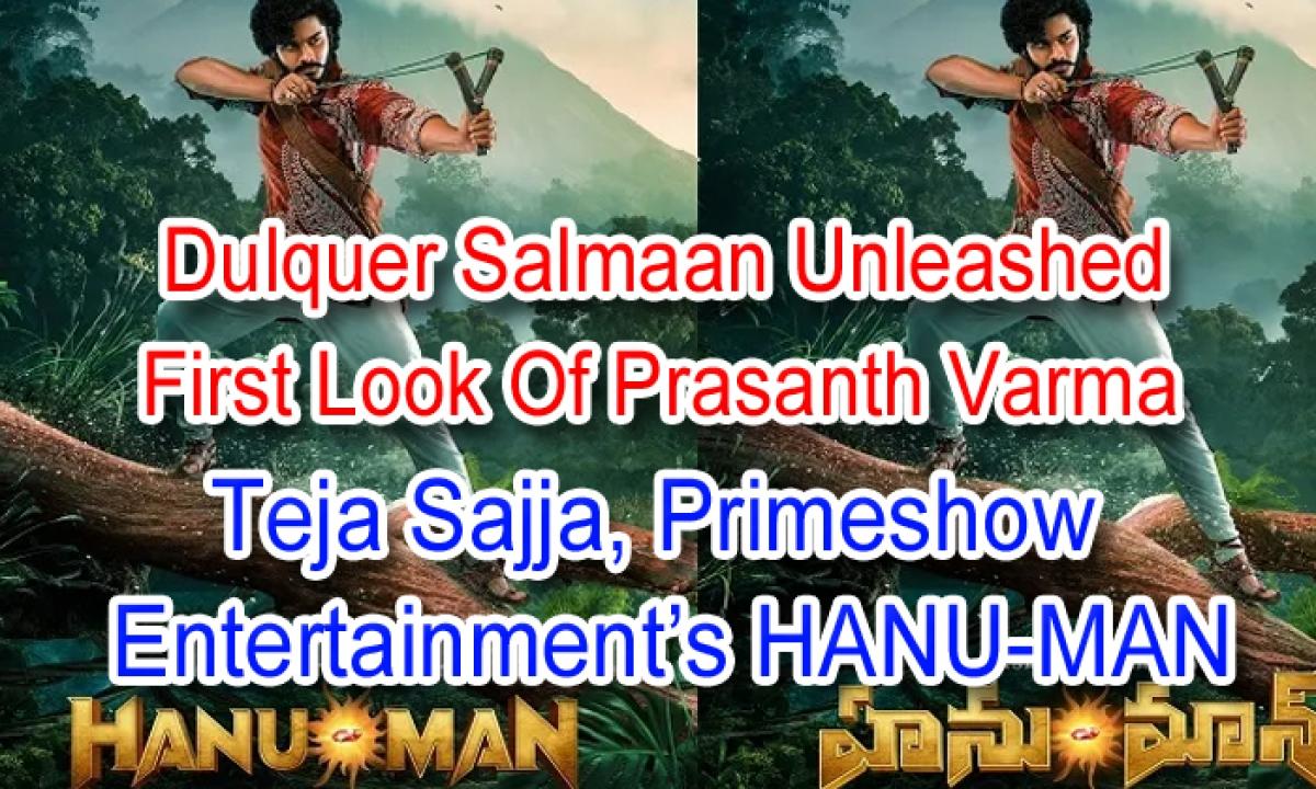 Dulquer Salmaan Unleashed First Look Of Prasanth Varma, Teja Sajja, Primeshow Entertainment's HANU-MAN-Latest News English-Telugu Tollywood Photo Image-TeluguStop.com