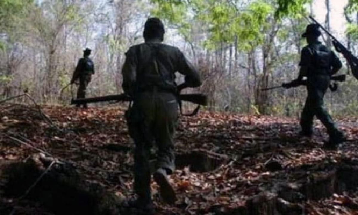 Exchange Of Fire Breaks Out Between Police And Maoists In AP-Latest News - Telugu-Telugu Tollywood Photo Image-TeluguStop.com