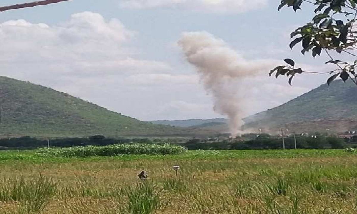Blast At Kadapa Limestone Quarry, 10 Casualties Reported!-TeluguStop.com