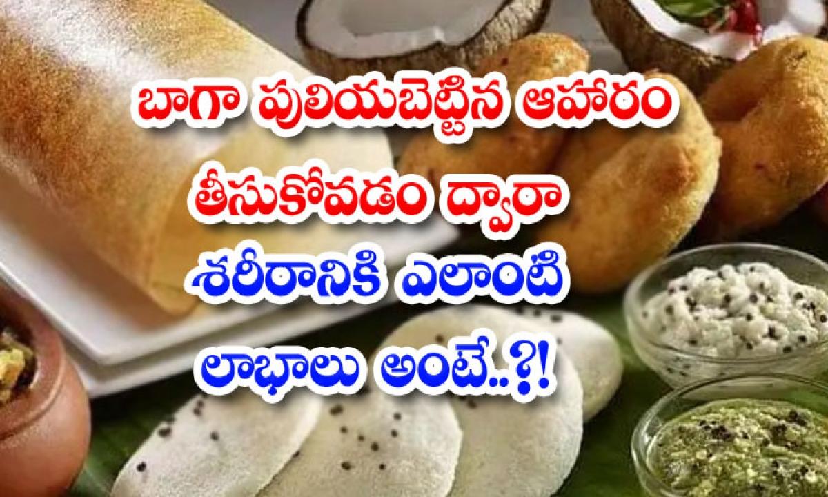 What Are The Benefits To The Body By Consuming Well Fermented Food-బాగా పులియబెట్టిన ఆహారం తీసుకోవడం ద్వారా శరీరానికి ఎలాంటి లాభాలు అంటే..-Latest News - Telugu-Telugu Tollywood Photo Image-TeluguStop.com