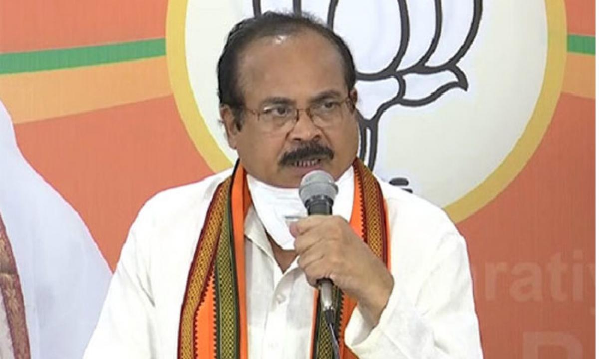 Former BJP Leader Enugula Peddireddy Gives Clarity Over Joining TRS-Latest News - Telugu-Telugu Tollywood Photo Image-TeluguStop.com