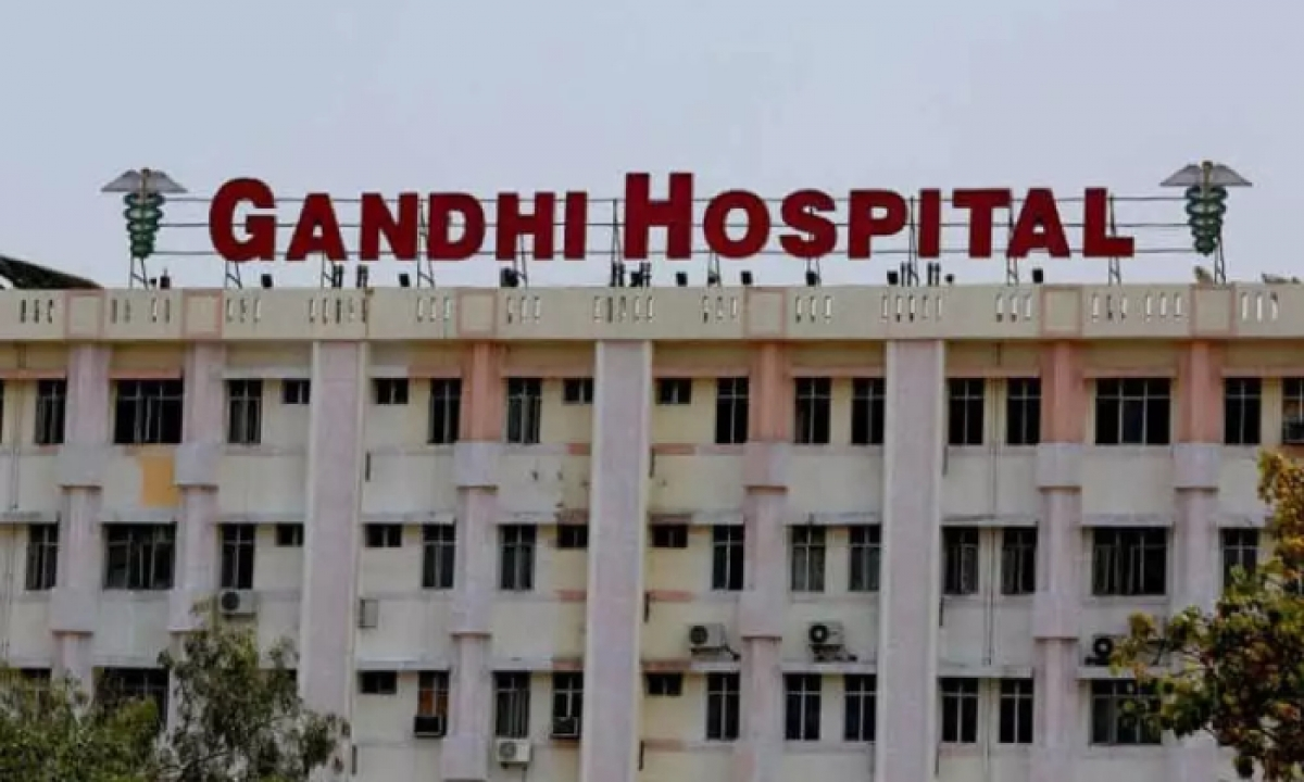 Gandhi Hospital Turned Out Into A Full-fledged Covid Center !!-TeluguStop.com