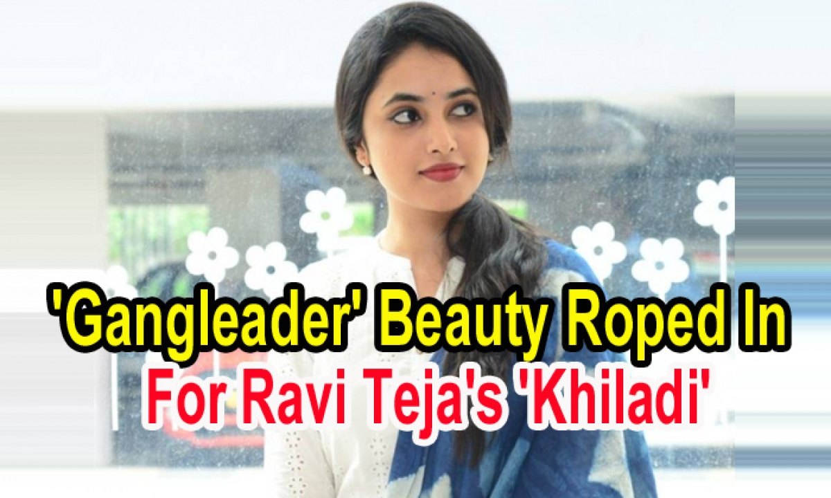 Gangleader' Beauty Roped In For Ravi Teja's Khiladi'-Latest News English-Telugu Tollywood Photo Image-TeluguStop.com
