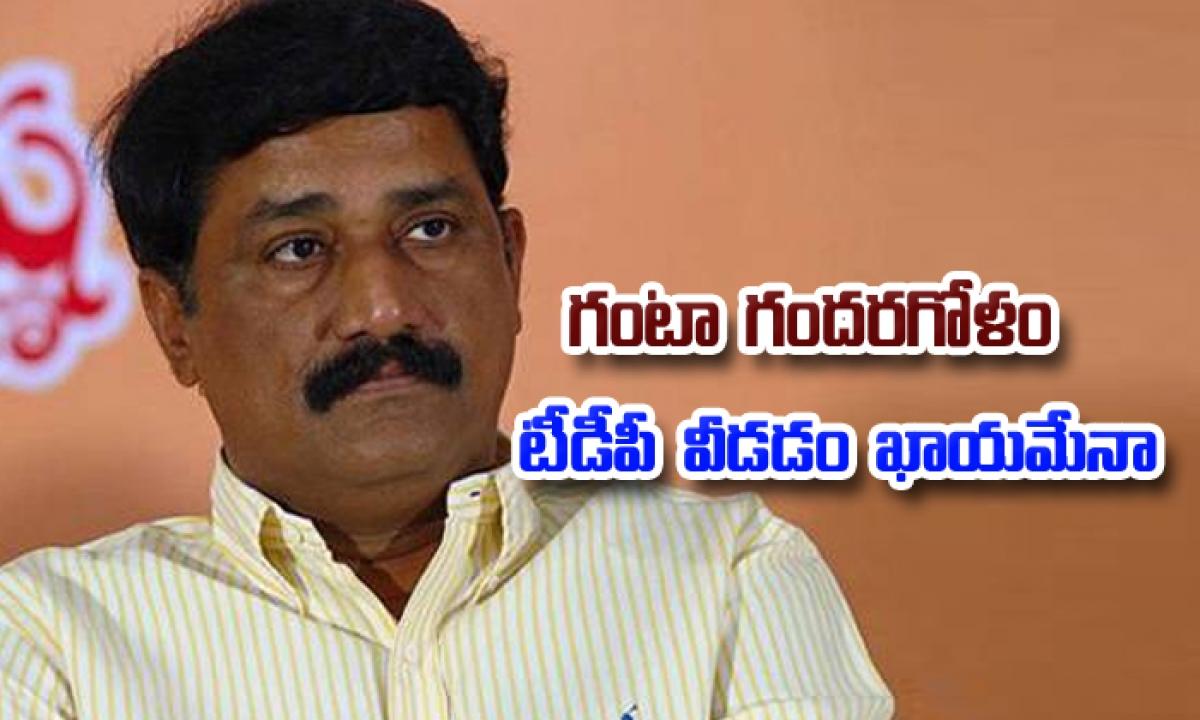 Hanta Srinivasa Rao May Quit Tdp 2-గంటా' గందరగోళం : టీడీపీ వీడడం ఖాయమేనా -Political-Telugu Tollywood Photo Image-TeluguStop.com
