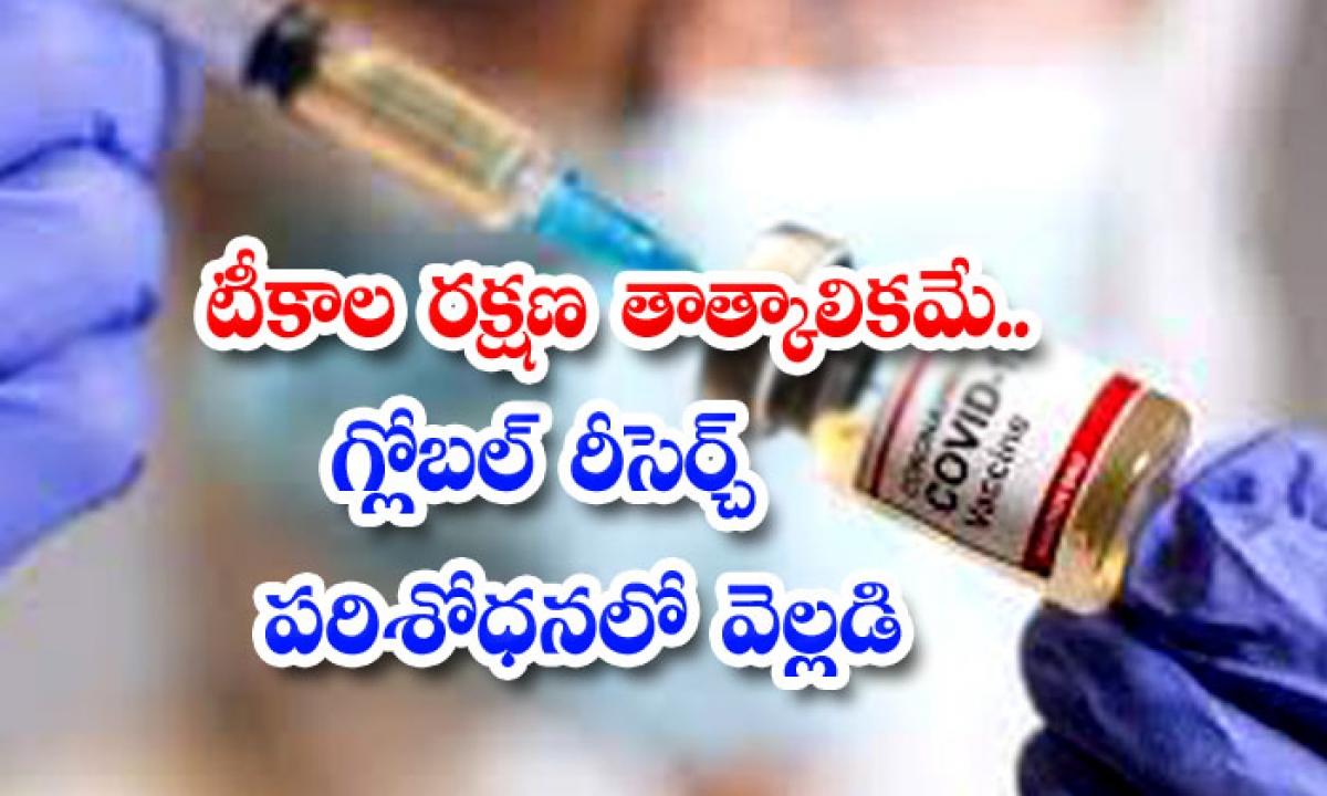 Vaccine Protection Is Temporary Global Research Reveals-టీకాల రక్షణ తాత్కాలికమే.. గ్లోబల్ రీసెర్చ్ పరిశోధనలో వెల్లడి-Latest News - Telugu-Telugu Tollywood Photo Image-TeluguStop.com