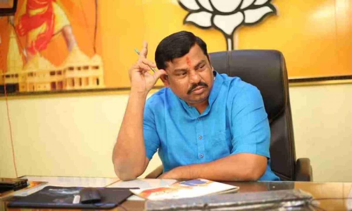 Goshamahal BJP MLA Raja Singh To Announce His Resign-Latest News English-Telugu Tollywood Photo Image-TeluguStop.com