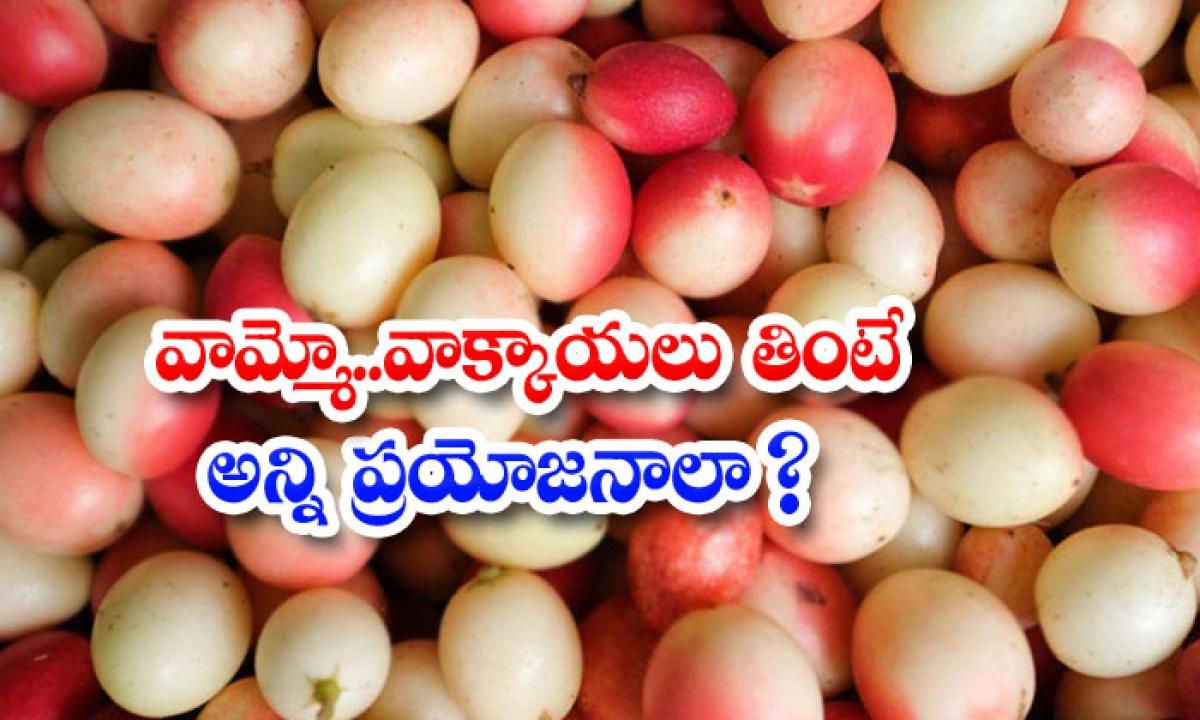 Health Benefits Of Carissa Carandas-వామ్మో..వాక్కాయలు తింటే అన్ని ప్రయోజనాలా-Latest News - Telugu-Telugu Tollywood Photo Image-TeluguStop.com