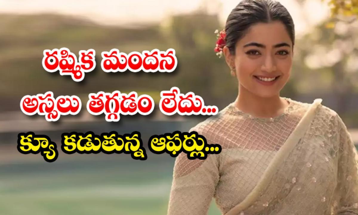 Rashmika Mandanna Full Josh With Movie Offers-TeluguStop.com