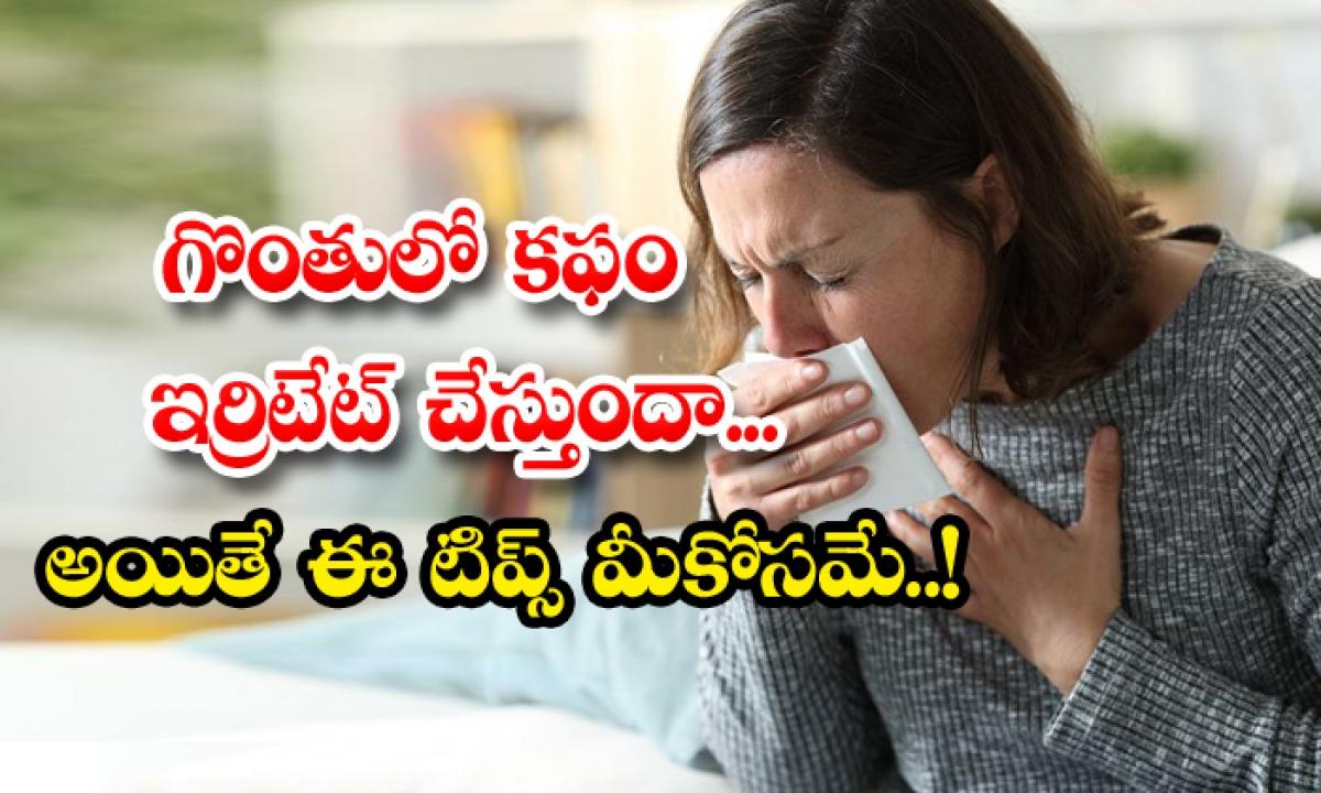 Home Remedies For Reduce Phlegm-TeluguStop.com