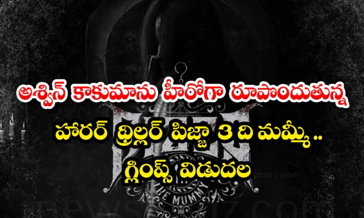 Horror Thriller Pizza 3 The Mummy Starring Ashwin Kakumanu As The Hero Glimpses Released-అశ్విన్ కాకుమాను హీరోగా రూపొందుతోన్న హారర్ థ్రిల్లర్ 'పిజ్జా 3 ది మమ్మీ' .. గ్లింప్స్ విడుదల-Latest News - Telugu-Telugu Tollywood Photo Image-TeluguStop.com