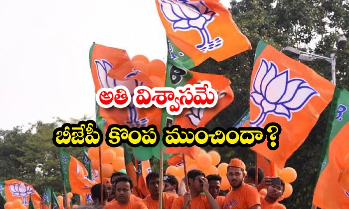 Is Bjp Overconfident-అతి విశ్వాసమే బీజేపీ కొంప ముంచిందా-Latest News - Telugu-Telugu Tollywood Photo Image-TeluguStop.com