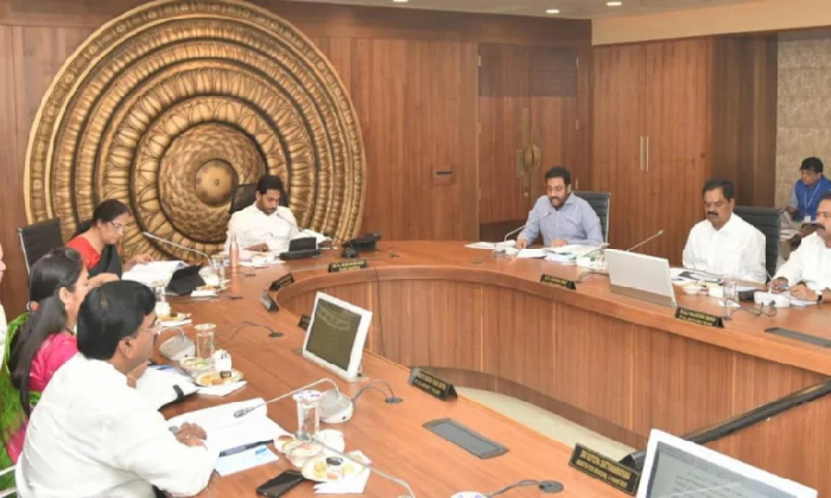 Cm Jagan Is Going To Take Pivotal Decisions In Today's Cabinet Meeting-TeluguStop.com