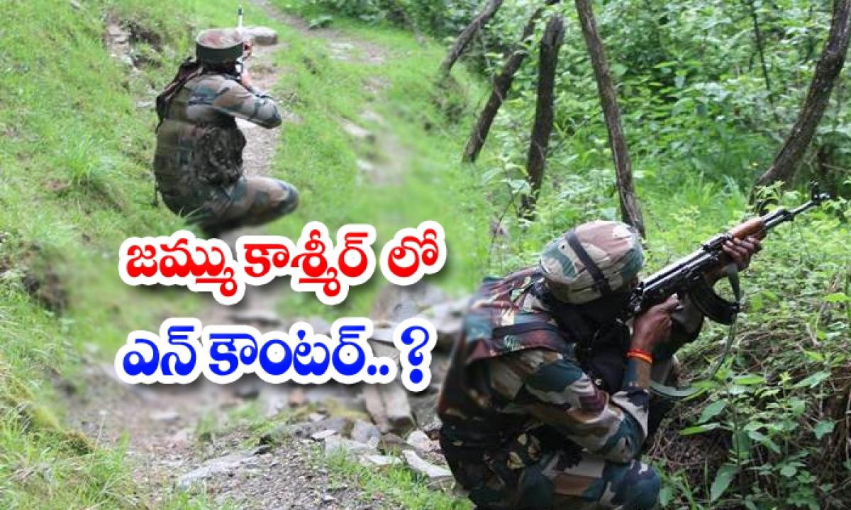 Encounter In Jammu Kashmir-TeluguStop.com