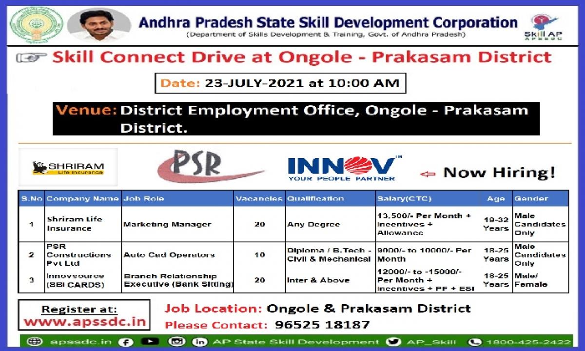 Job Mela By APSSDC On July 23, 2021-Latest News English-Telugu Tollywood Photo Image-TeluguStop.com