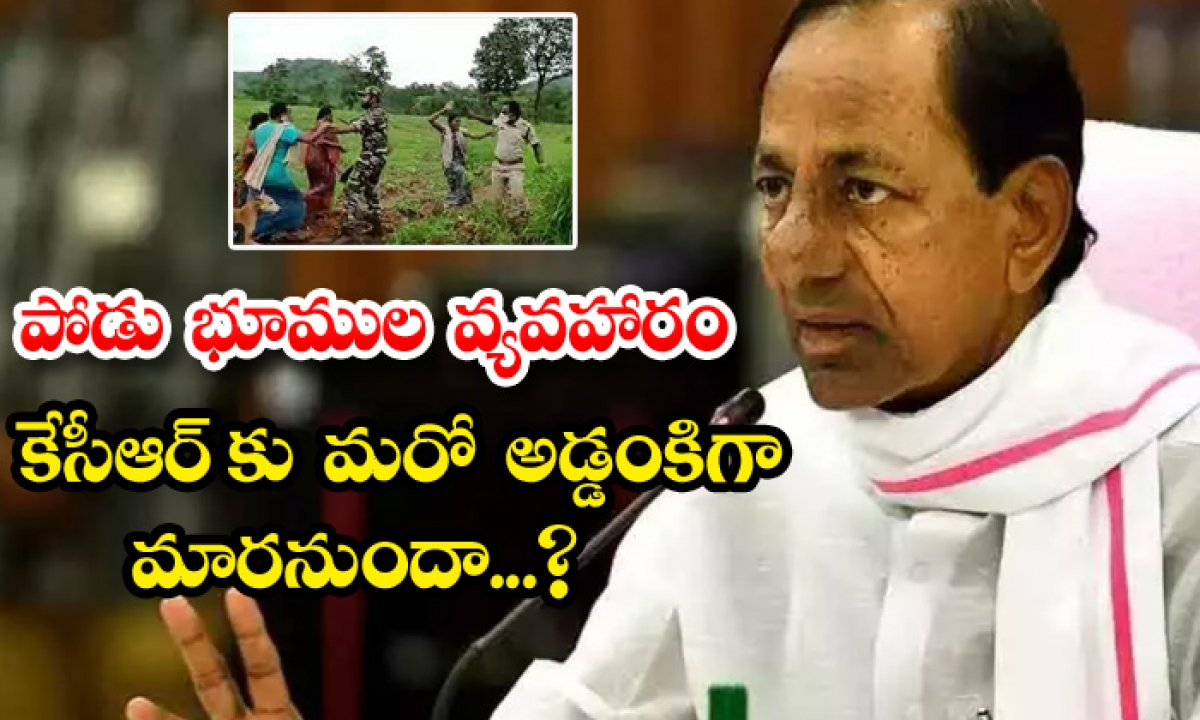 Podu Land Issue Trouble To Kcr-పోడు భూముల వ్యవహారం కేసీఆర్ కు మరో అడ్డంకిగా మారనుందా-Latest News - Telugu-Telugu Tollywood Photo Image-TeluguStop.com