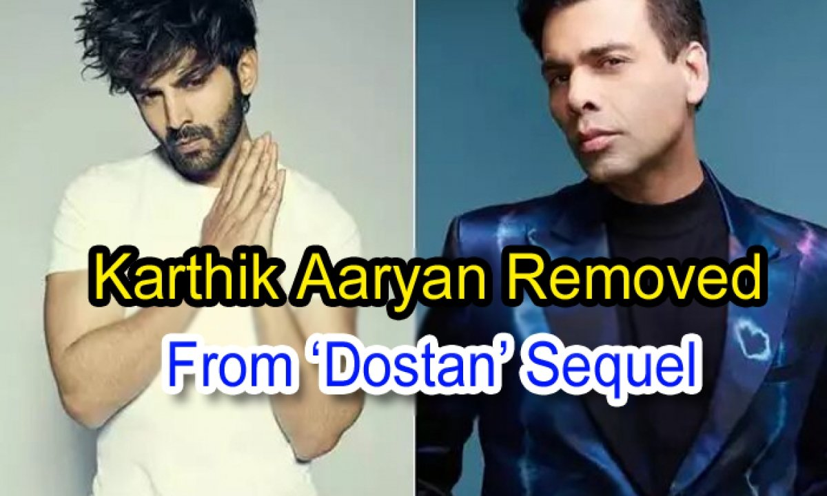 Kartik Aaryan Removed From 'dostana' Sequel-TeluguStop.com