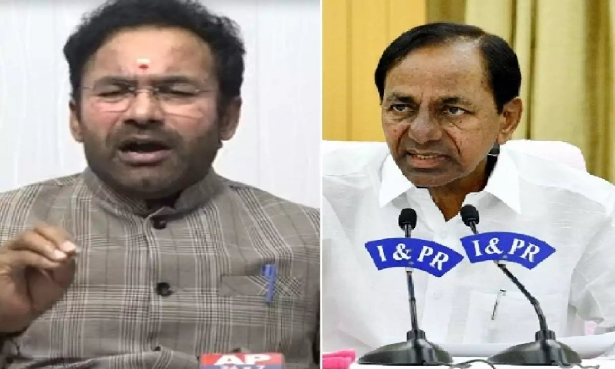 Kishan Reddy Penned A Letter To Kcr Asking Him To Review The Hmda Master Plan !!-TeluguStop.com